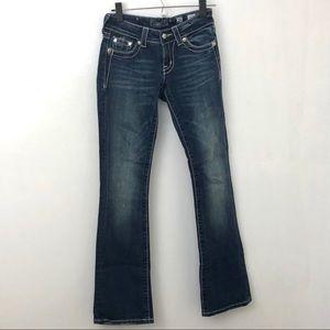 Miss Me Rhinestone Bootcut Jeans